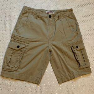 Arizona Jean Co. Cargo Khaki Shorts Men's Size 30